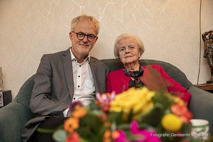 Mevrouw Muijen-Overkleeft viert 101e verjaardag