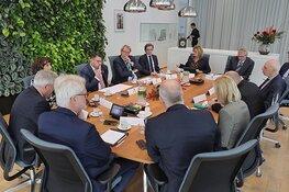 Commissaris van de Koning Jaap Smit op bezoek in Westland