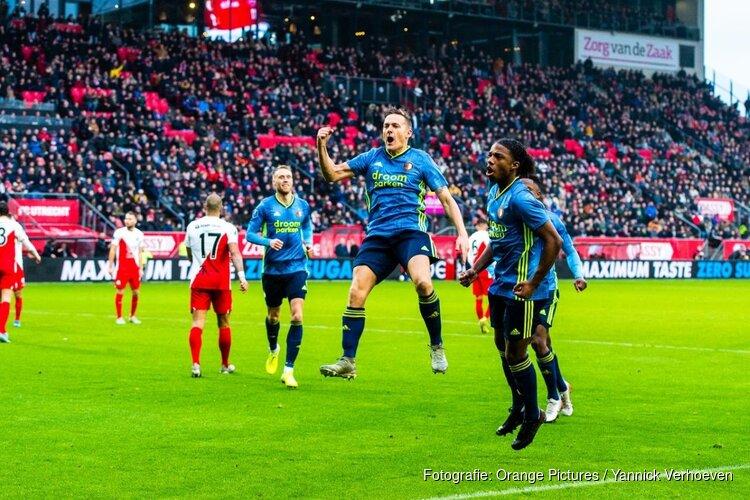Feyenoord gaat met goed gevoel winterstop in