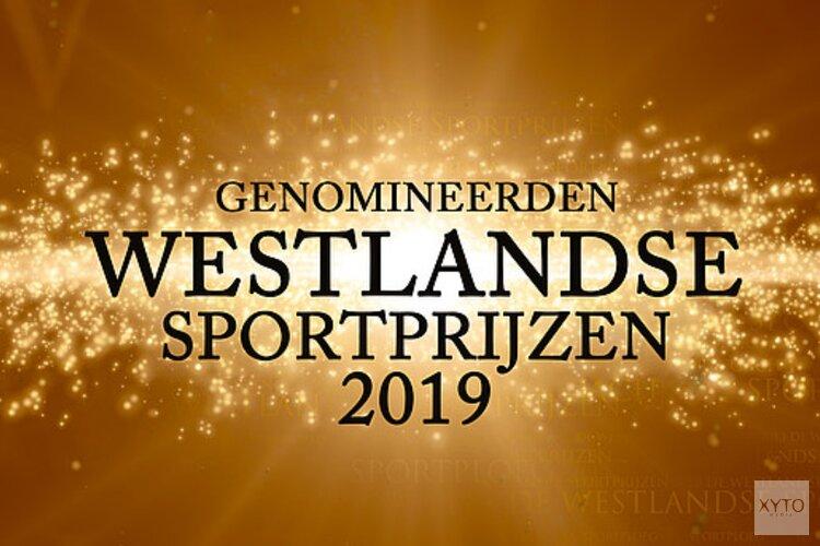 Nominaties Westlandse sportprijzen 2019 bekend, categorieën sporttalenten en sportvrouwen