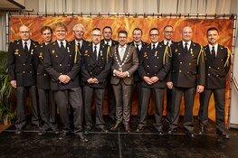 Koninklijke onderscheiding voor brandweervrijwilligers Honselersdijk