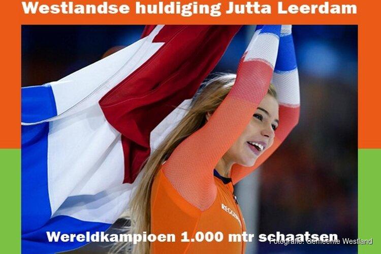 Wereldkampioen Jutta Leerdam wordt 2 maart gehuldigd