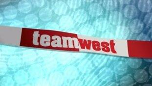 Beelden ramkraak juwelier in Team West