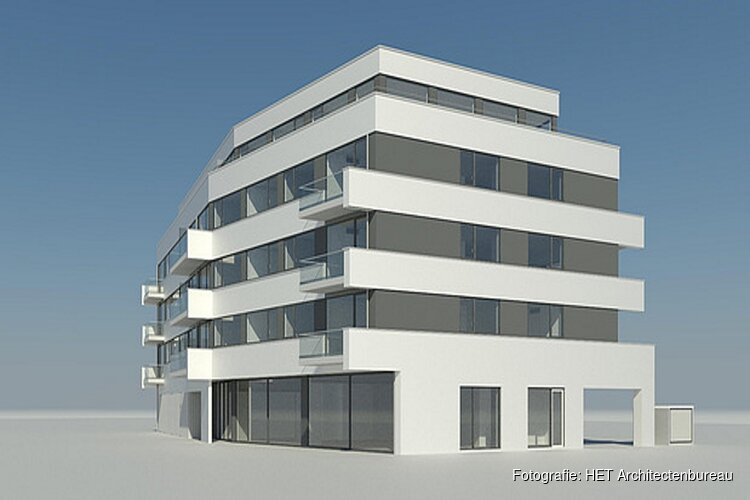 Overeenkomst voor bouw appartementen locatie De Harmonie