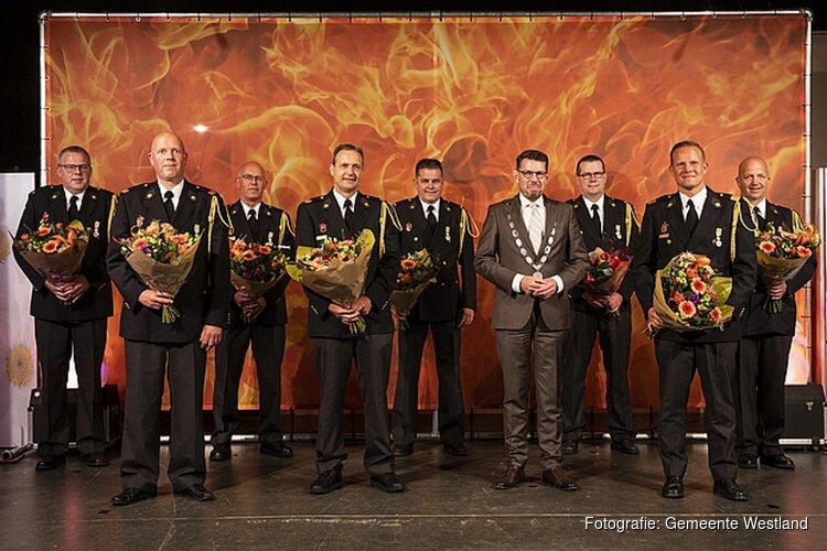 Koninklijke onderscheidingen brandweervrijwilligers De Lier