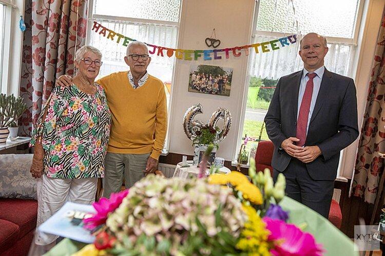 Echtpaar Penning-Koppenol uit Naaldwijk 60 jaar getrouwd