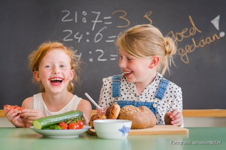 Meesterbakker Roodenrijs verzorgt ontbijt tijdens het Nationaal Schoolontbijt